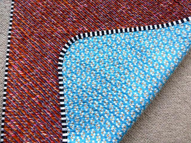 chenille baby blanket 009