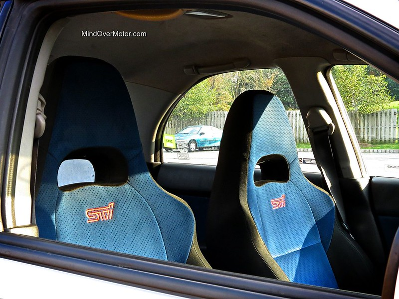 2004 Subaru WRX STi Interior
