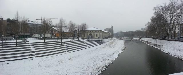 Sihl im Schnee