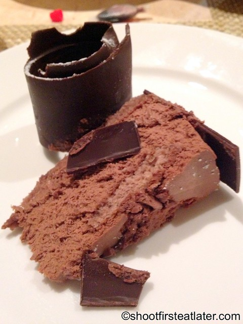 Brunetti, Melbourne- chocolate mousse cake