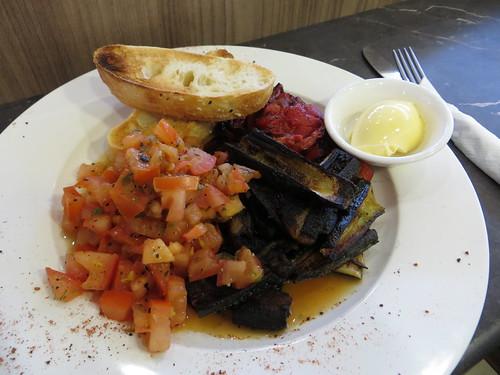 adelaide parklands 'vegan' breakfast