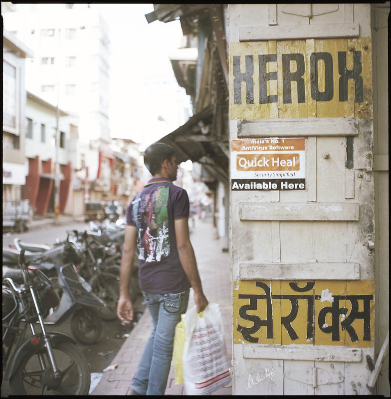 Kodak Portra India Street Photography