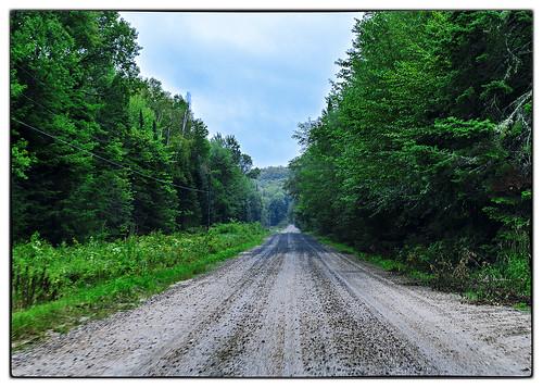 Heading South on McVittie's Road