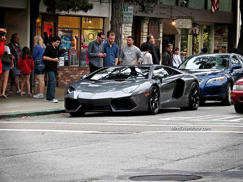 Lamborghini Aventador in Carmel, California