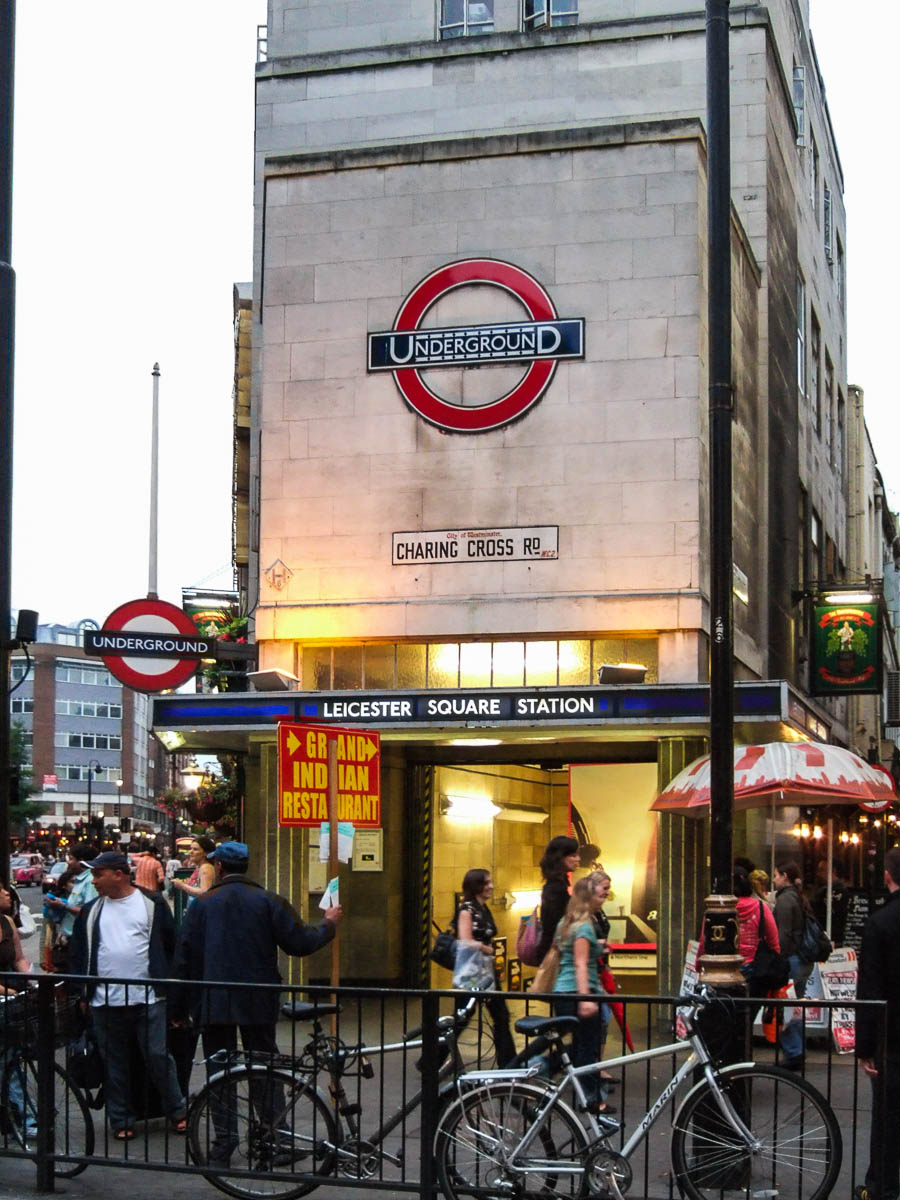 Charing Cross Road - Leicester Square Station