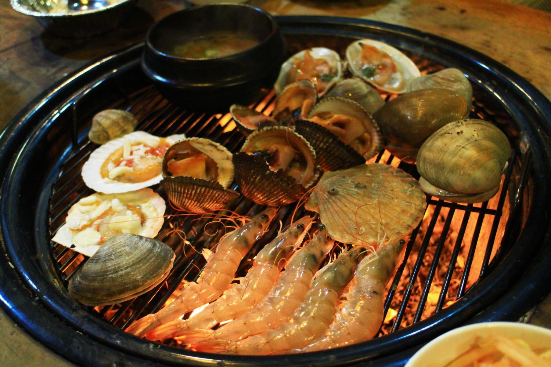 [首爾] 弘大任食燒海鮮烤貝店.홍대조개구이   跟著小鼠去旅行 – U Blog 博客