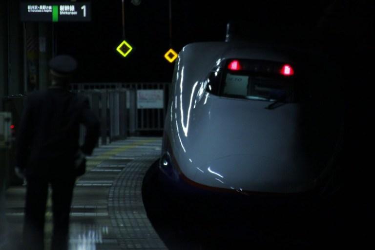 あさま551号 発車