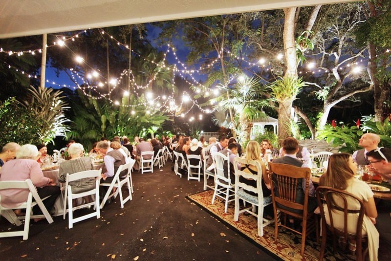 South Florida Backyard Wedding