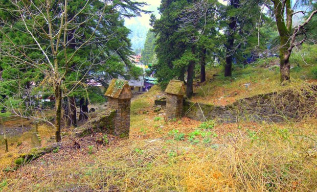 Entrance to the Graveyard, Nainital