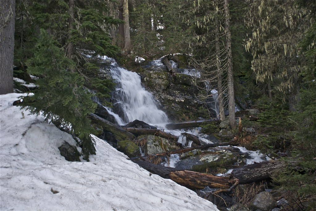 Waterfall on Cascade Creek