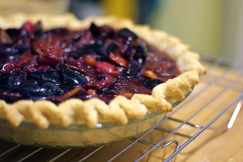 Par-baked and filled