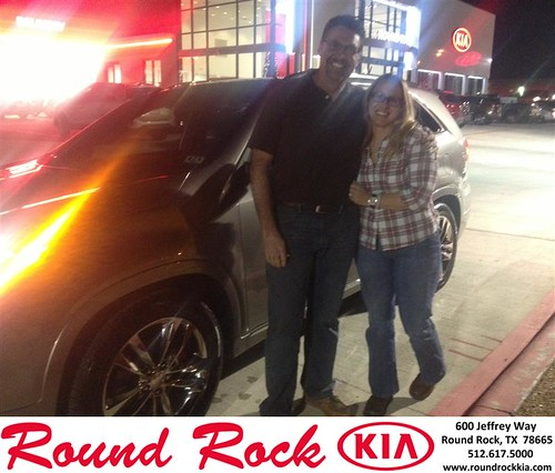 Thank you to Rhian Lamunyoun on your new 2014 #Kia #Sorento from Bobby Nestler and everyone at Round Rock Kia! #NewCarSmell by RoundRockKia