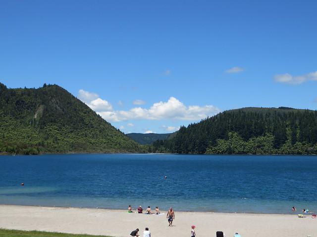 Blue lake -- rotorua