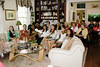 04   Scholarship recipients seated to receive their awards at the home of member Virginia Mason.