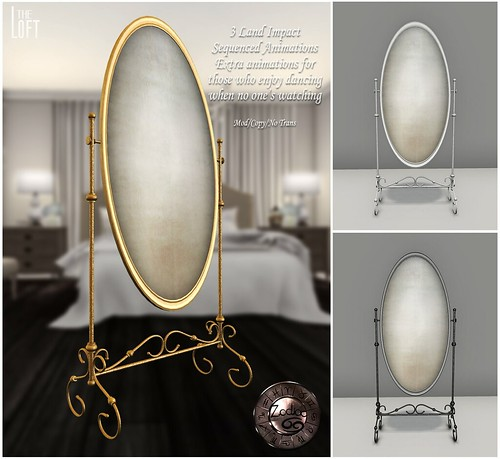 Wrought Iron Dainty Mirror