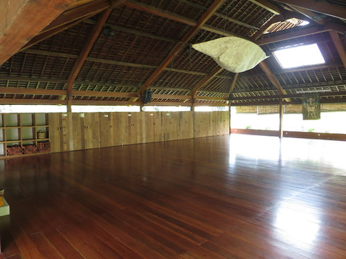 the upstairs asana hall