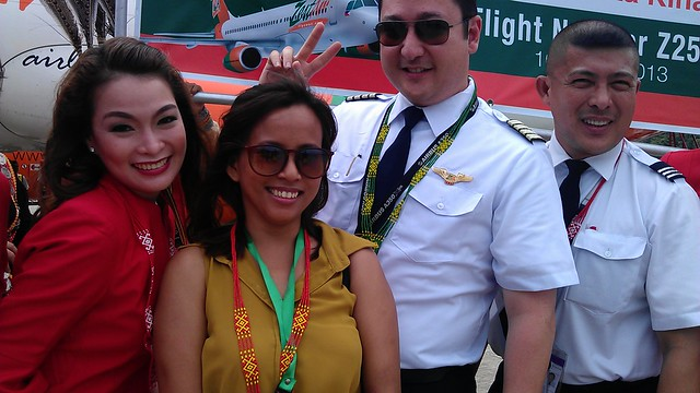Zest Air Flight Z2501 captain,co-captain and head steward