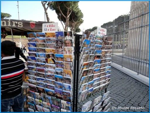 Puesto souvenires Coliseo