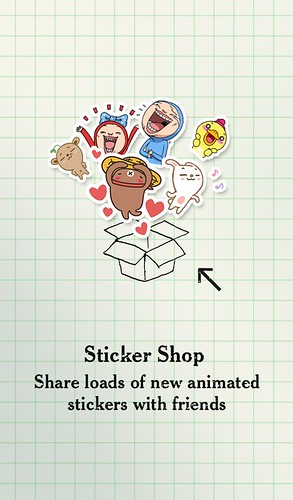 02_《WeChat Android 5.0上路》版本更新歡迎頁面 全新貼圖市集選擇更豐富