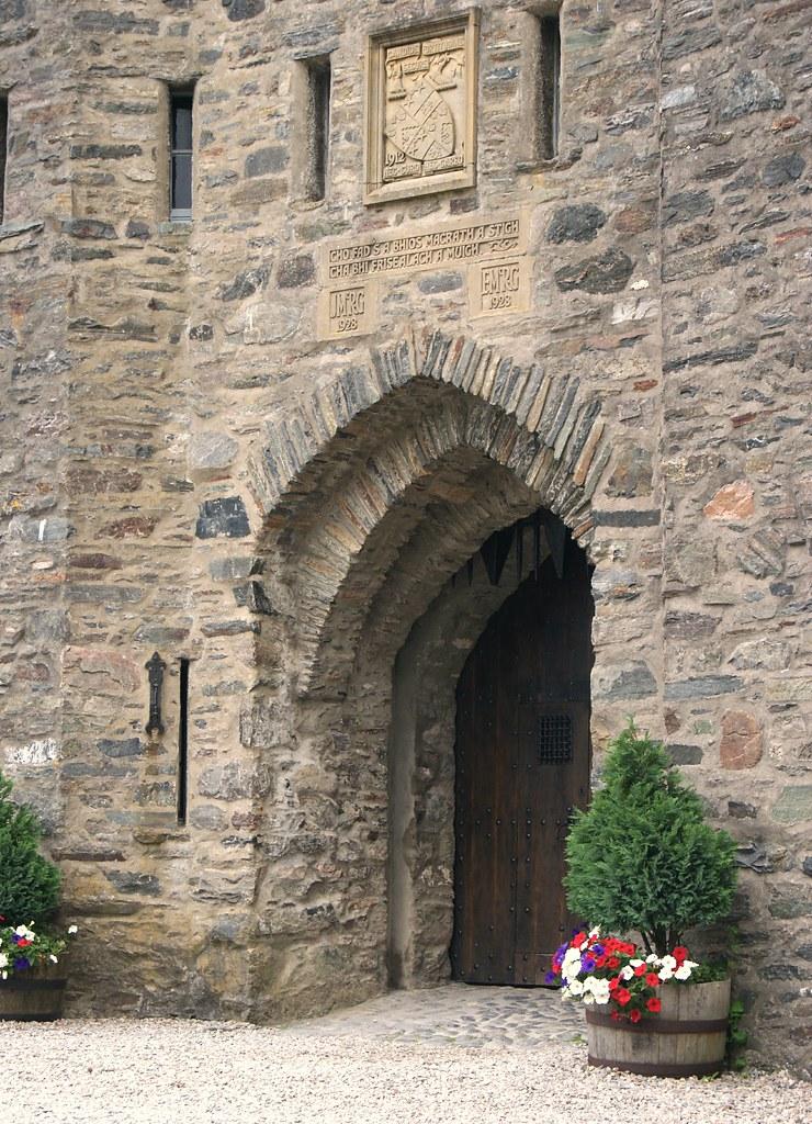 Entrée du château d'Eilean Donan