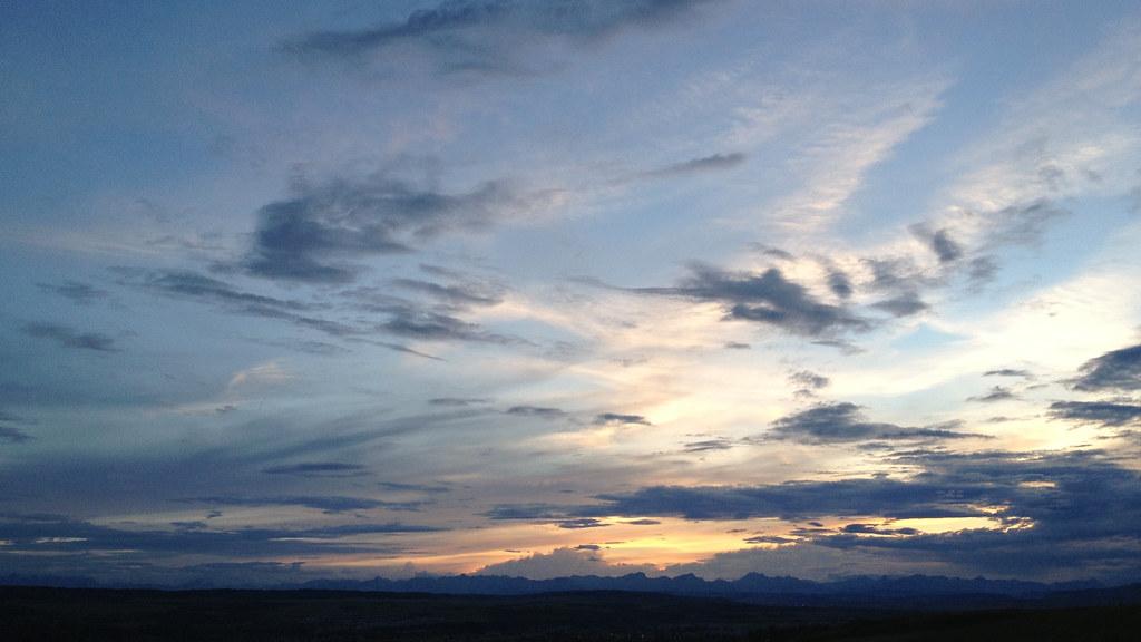 Cochrane sunset
