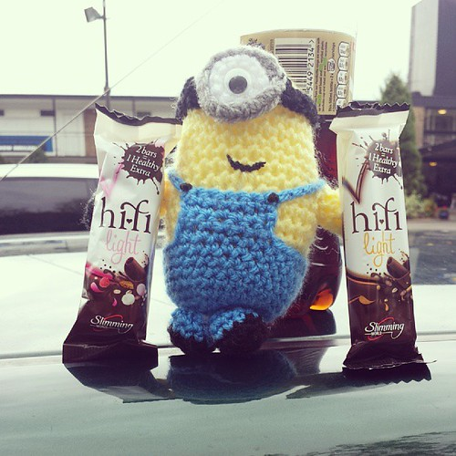 #minionadventures it be breakfast time. Oh its 8 to 12......oops that's what you get when you mess with a body clock!