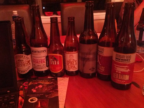 A selection of NZ beer