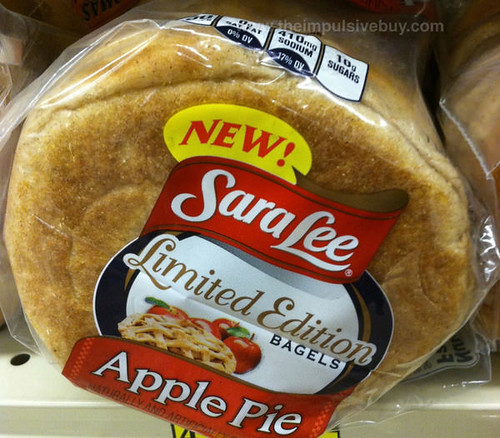 Sara Lee Limited Edition Apple Pie Bagels