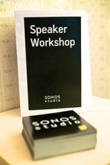 Sonos Speaker Workshop