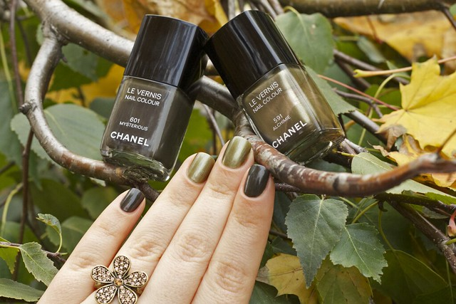 14 Chanel Alchimie + Mysterious swatches