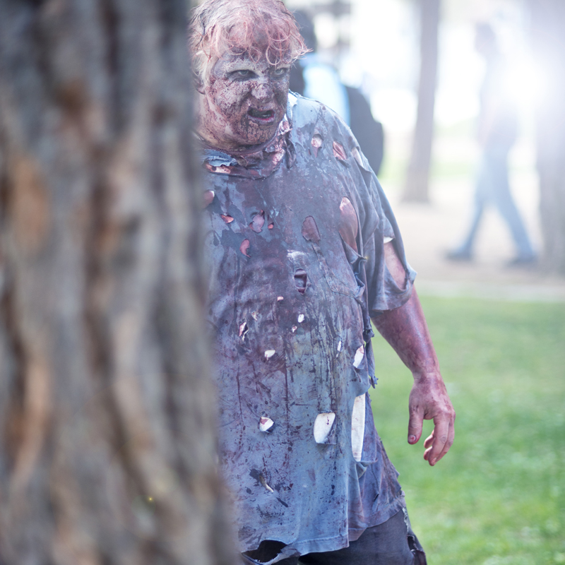 Zombie Walk Downtown San Diego