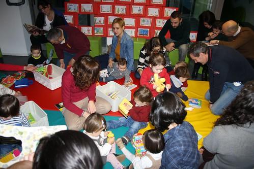 Bebencontros na Biblioteca de Os Rosales