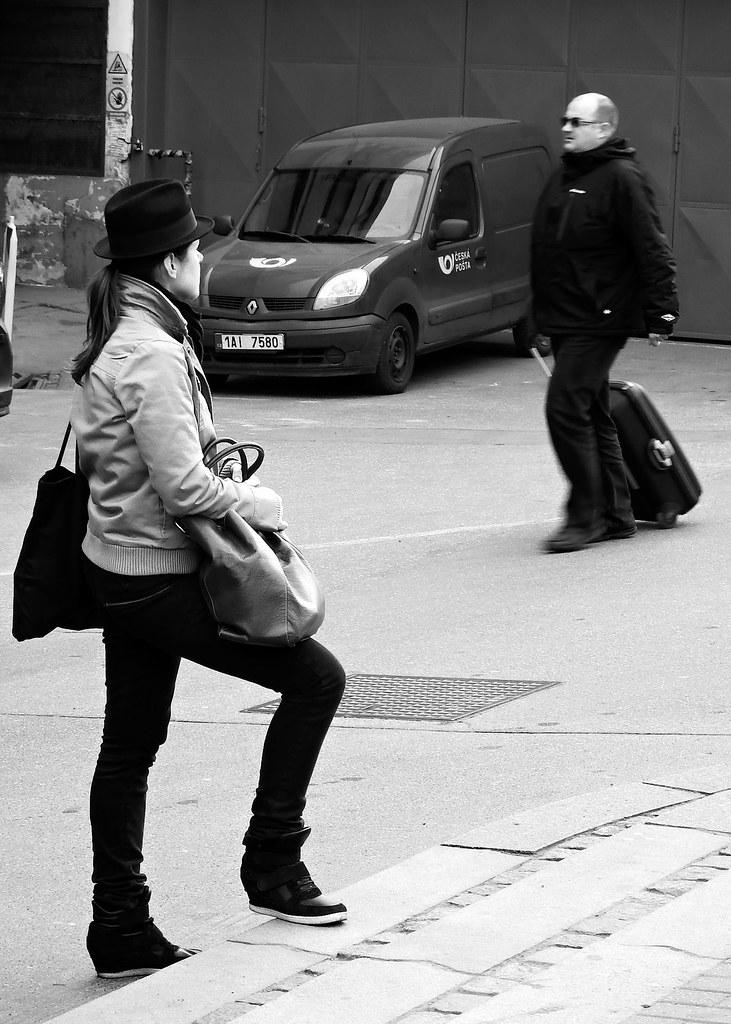 Street Study in B&W