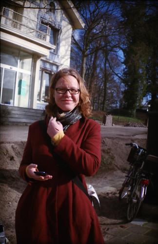Anne in Haarlem