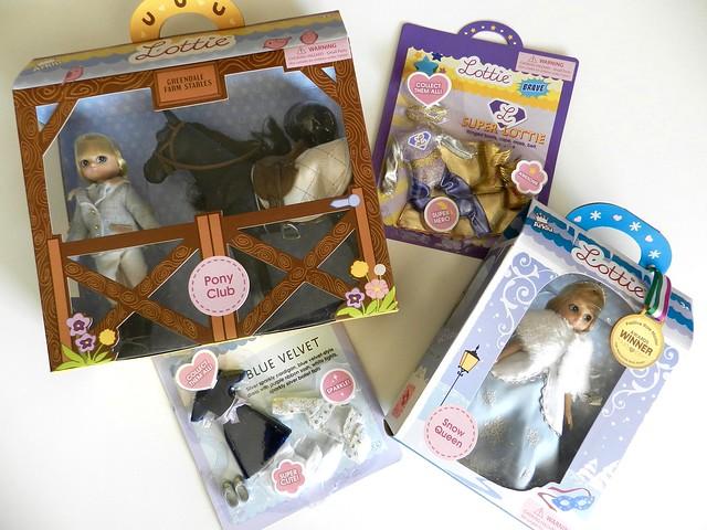confezioni bambola Lottie