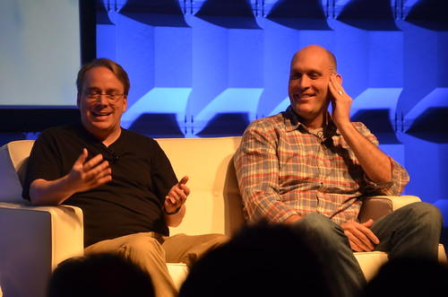 Linus Torvalds, Linux Foundation - Greg Kroah-Hartman, Linux Foundation