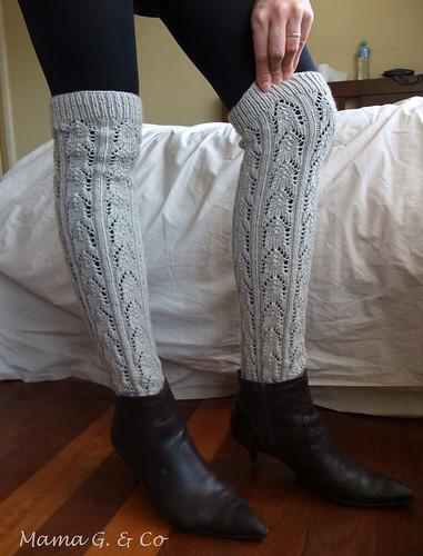 Lace legwarmers (2)