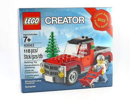 40083 Christmas Tree Truck 01