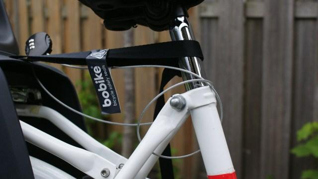 Bobike fietsstoeltje bevestiging riem