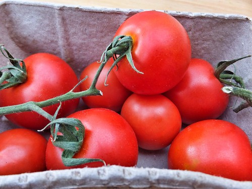 Riverford organic tomatoes