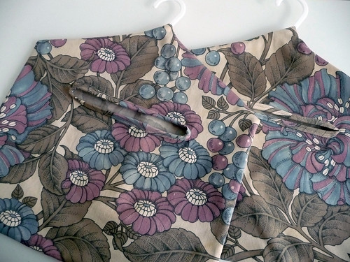 Handmade Peg Bags in Vintage Fabric