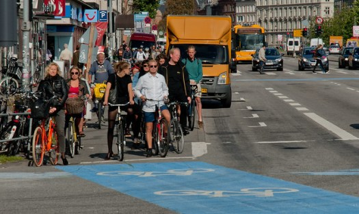 People on Bike at Copenhagen