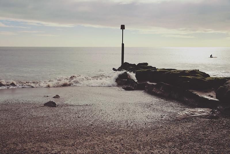 Highcliffe beach