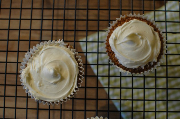 Camomile & Honey Cupcakes