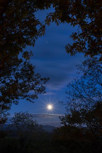 Rhinogydd Moonrise