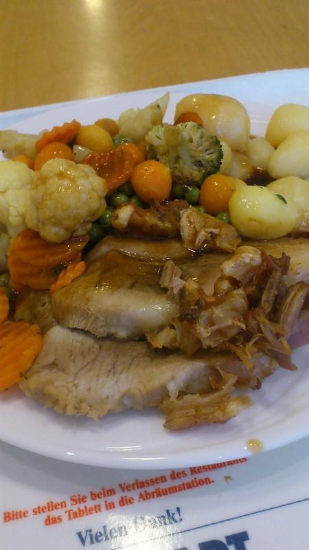 Gemüse Kartoffeln Fleisch