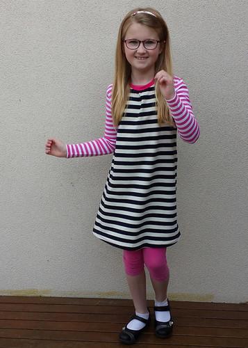 Crafterhours racerback dress