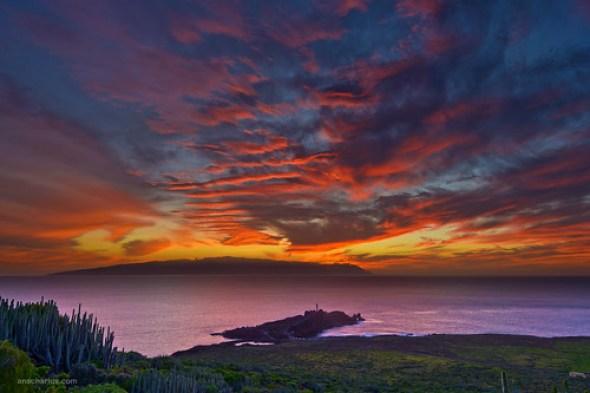La Gomera Sunset - Nikon D800E - Full Size