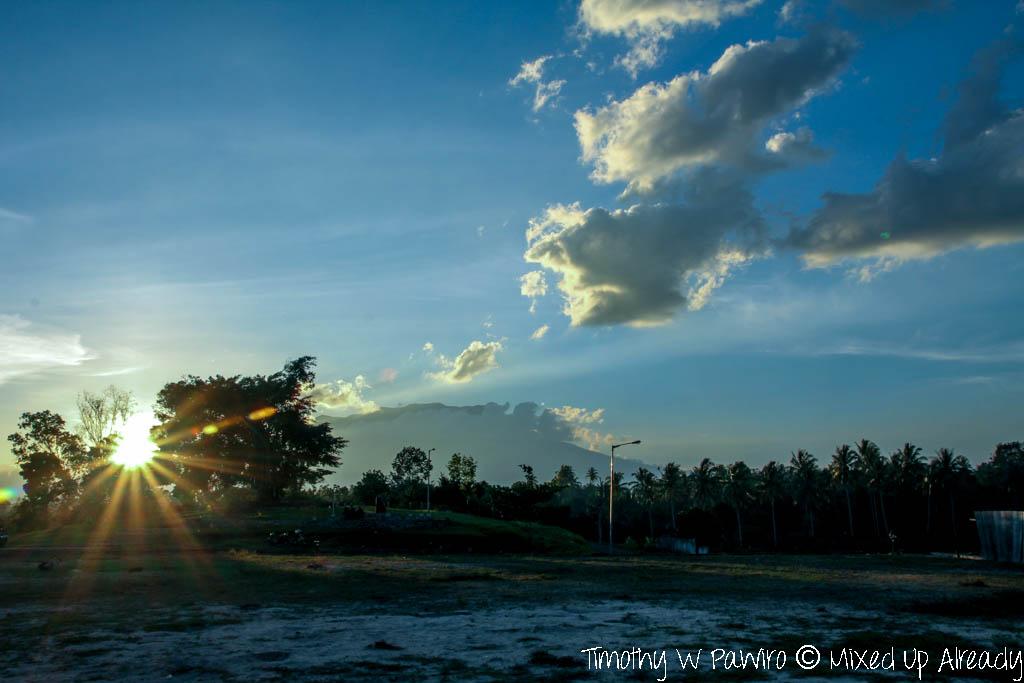 Indonesia - West Sumatra - Istana Pagaruyung (Pagaruyung Palace) - Almost sunset