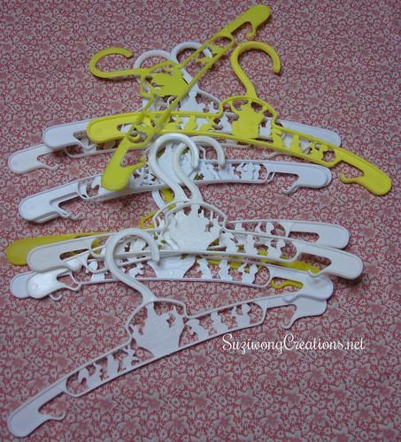 small flexible hangers